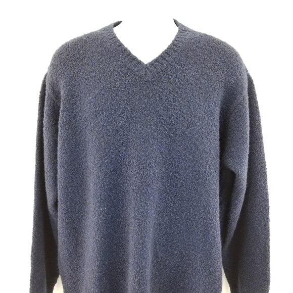 Gran Sasso Other - Gran Sasso Blue  Made Italy Wool Silk Cashmere V N